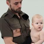 father-breastfeeding