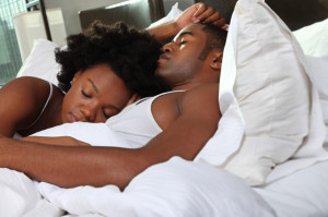 Black Couple Sleeping